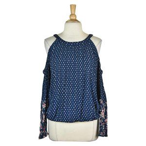 Mossimo Supply Co. Blouses LG Blue